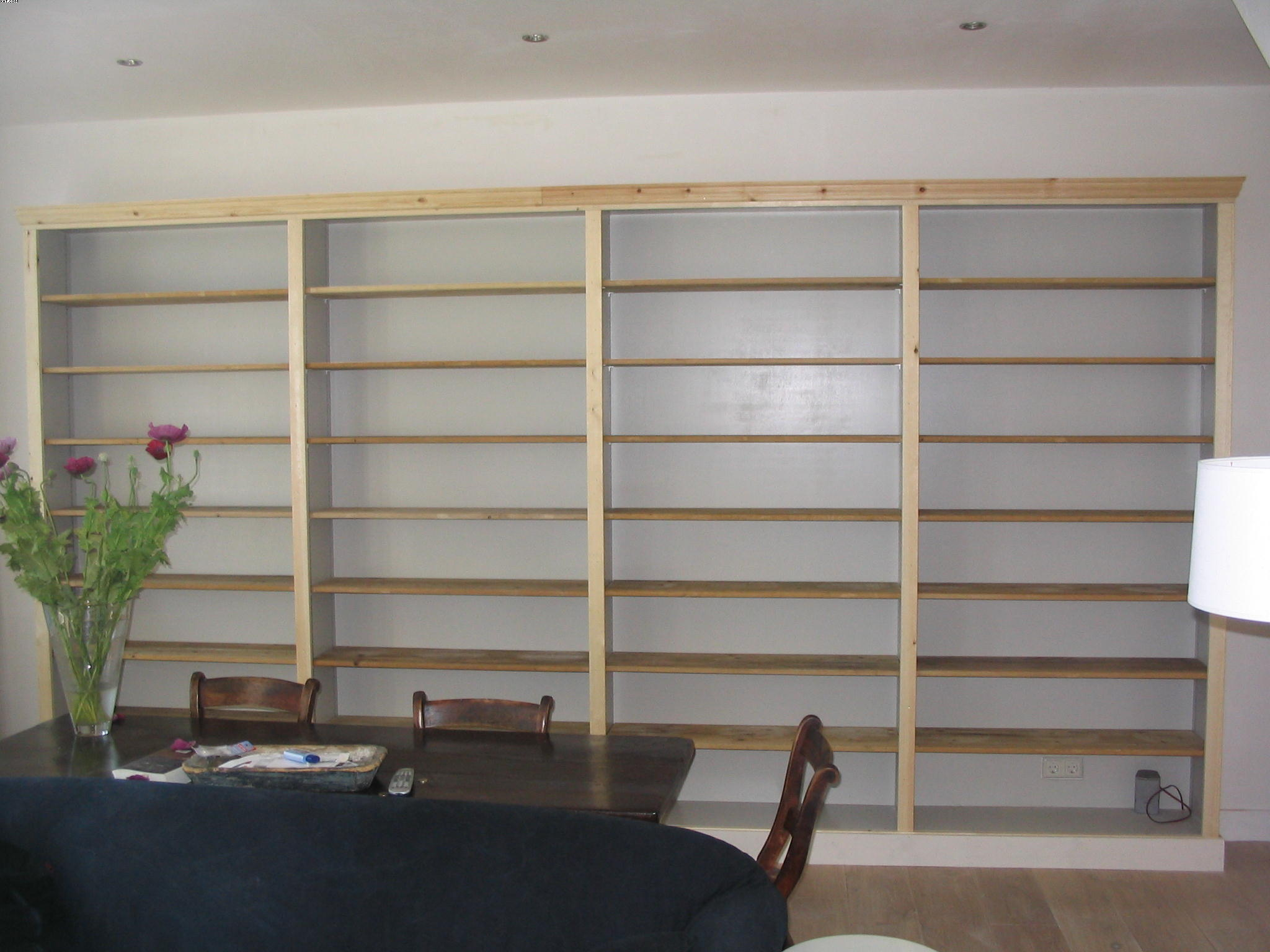 Boekenkast - Chris de Graaf Interieurtimmerwerk