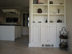 Plintverwarming woonkamer – Installatiehandleiding