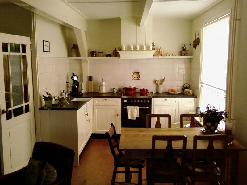 Keuken Schouw Hoogte : plaats daarvan zijn naast de getimmerde schouw twee planken geplaatst
