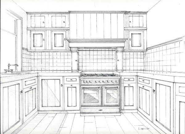 Chris de graaf interieurtimmerwerk klassieke keuken for 3d ruimte ontwerpen