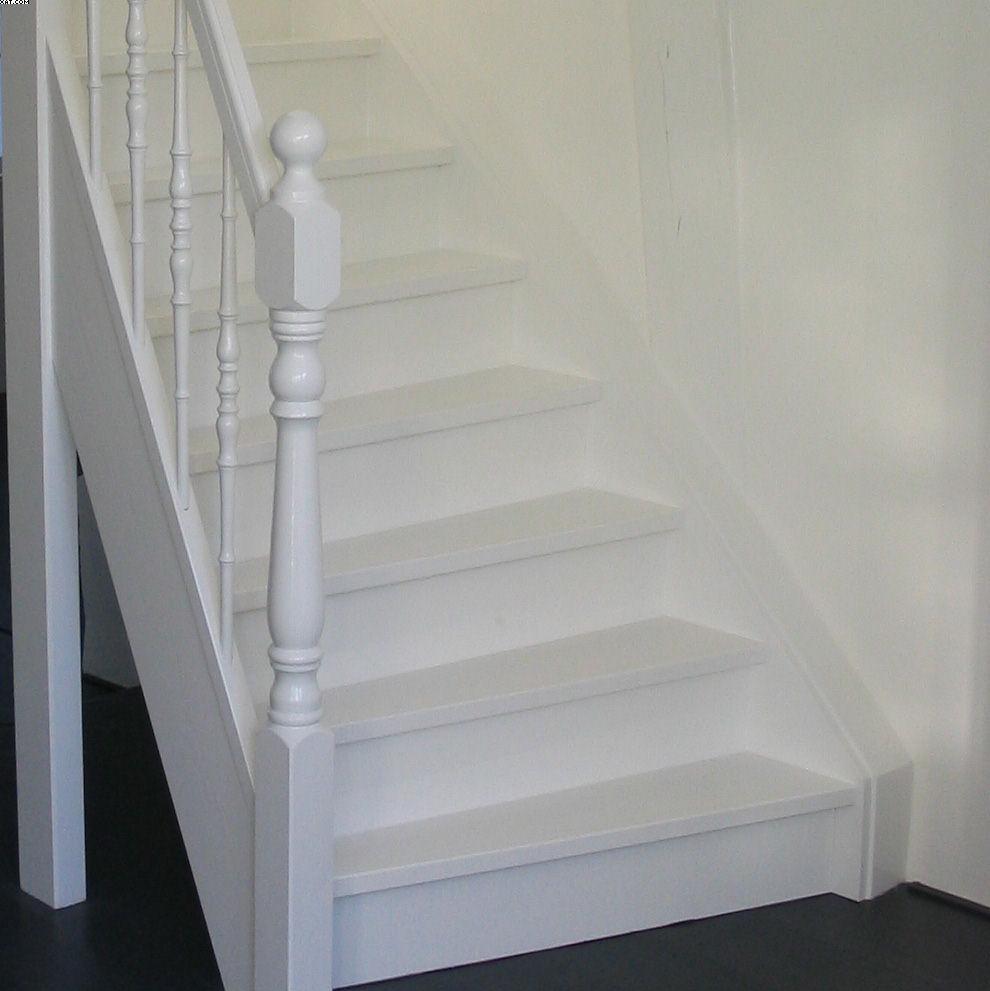 Chris de graaf interieurtimmerwerk trappen - Geschilderde trapmodel ...